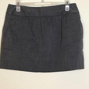 BCBGeneration-Gray Miniskirt with pockets size 6